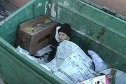 HomelessDumpster